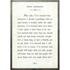 Maya Angelou Book Collection - Sugarboo and Co - White - Grey Wood Frame
