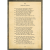 Poetry Collection - If - Rudyard Kipling - Cream - Grey Wood Frame
