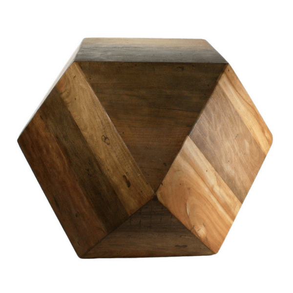 Icosahedron wood block - Large - Sugarboo and Co