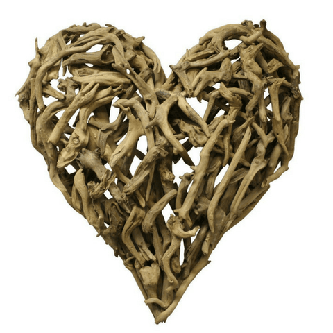 Sugarboo and Co Driftwood Heart