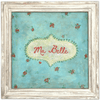 Ma Belle - Art Print - Sugarboo and Co - White Wash Frame
