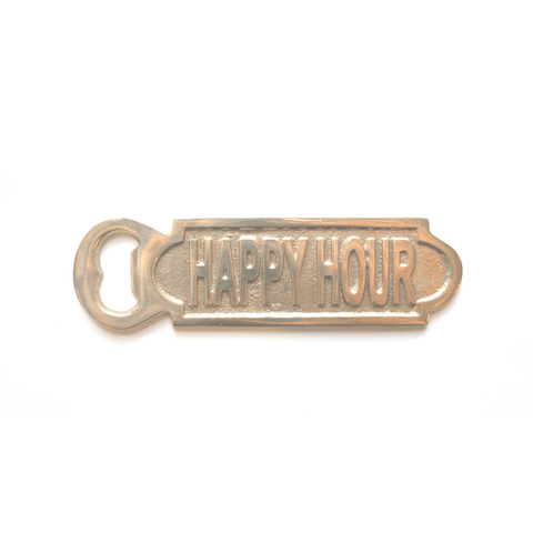Gold Bottle Opener - Happy Hour - Sugarboo and Co