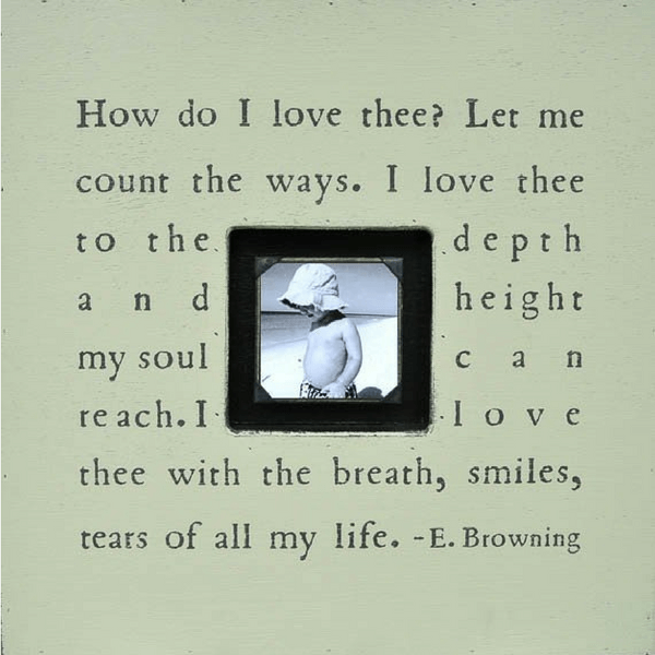 How Do I Love Thee Photobox - Sugarboo and Co