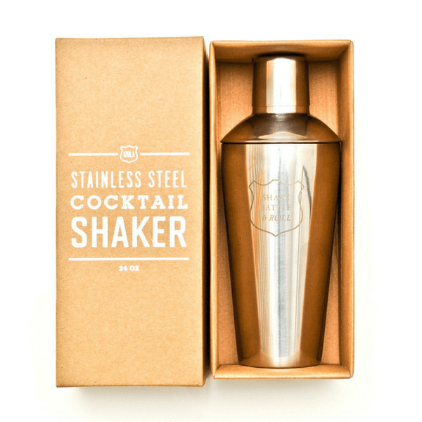 Stainless steel cocktail shaker - Shake, Rattle, And Roll - Sugarboo and Co