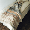Striped Linen Throw - Multicolored - Sugarboo and Co