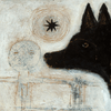 Dog Head - Art Print - Sugarboo and Co - Gallery Wrap