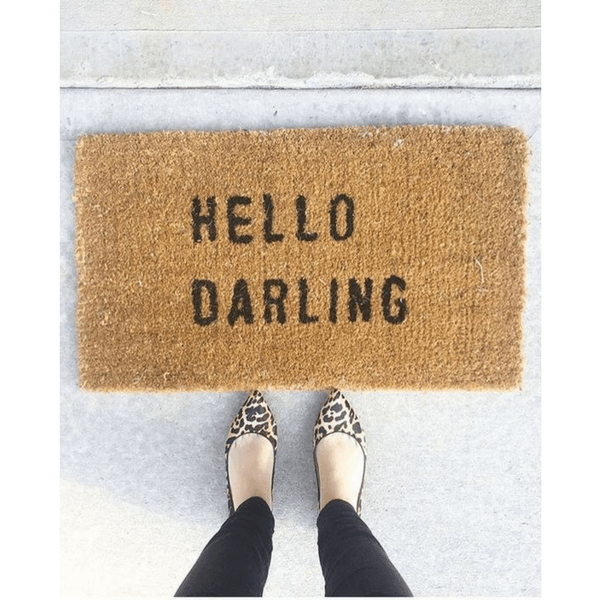Door Mat - Hello Darling - Sugarboo and Co