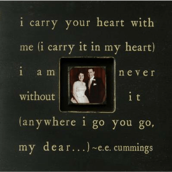I carry your heart - Photobox - Sugarboo and Co - Black