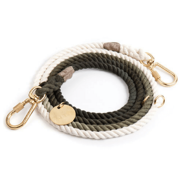 Olive Ombre Leash - Sugarboo and Co