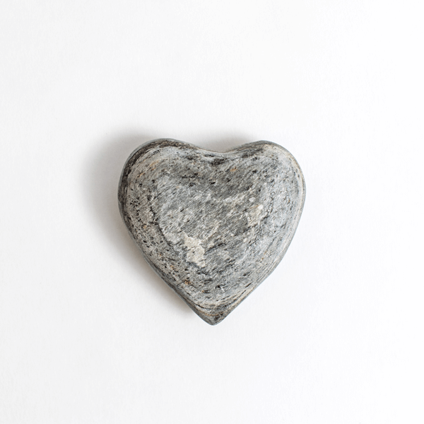 Silvershine Slate Heart Paperweight- Sugarboo and Co