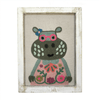 Fabric Wall Art - Hippo - Sugarboo and Co