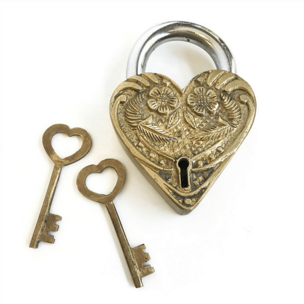 Heart Lock - Brass - Sugarboo and Co