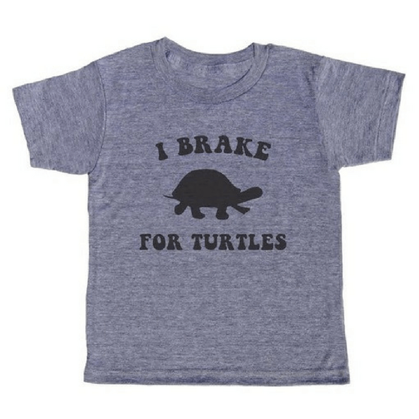 I Brake For Turtles T-Shirt - Sugarboo and Co