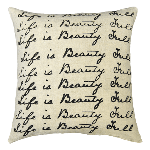 Life is Beauty Full - Sugarboo and Co Pillow