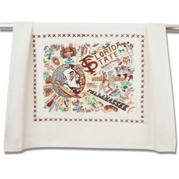 Florida State University Dish Towel - Sugarboo and Co