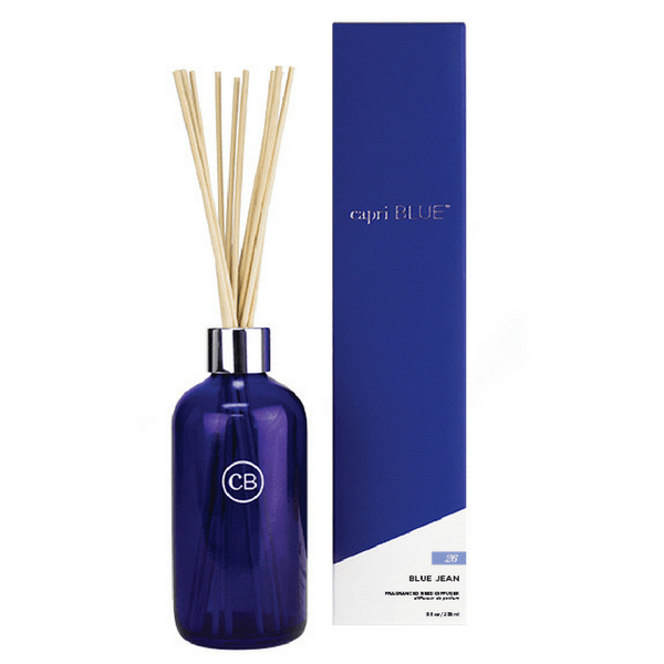 Capri Blue Reed Diffuser - Blue Jean - Sugarboo and Co
