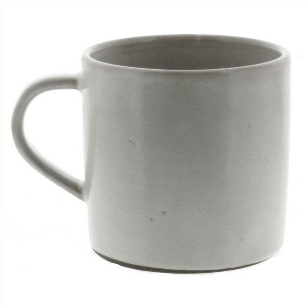 White Ceramic Mug - Sugarboo and Co