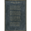 The Road Not Taken - Robert Frost - Sugarboo and Co Poetry Collection - Charcoal - Grey Wood Frame