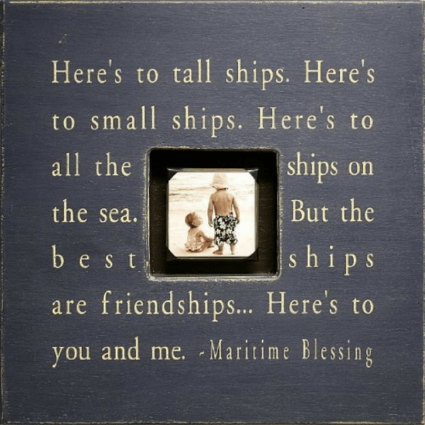 Here's to Tall Ships - Photobox - Sugarboo and Co - Charcoal