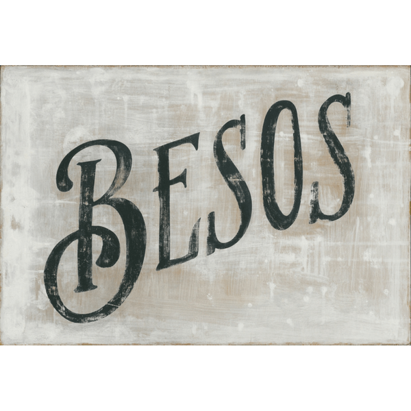 Besos - Sugarboo and Co Art Print - Gallery Wrap