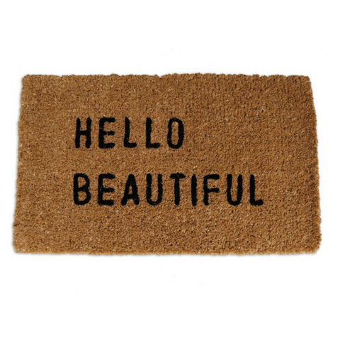 Door Mat - Hello Beautiful - Sugarboo and Co