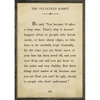 The Velveteen Rabbit Book Collection - Sugarboo and Co - Cream - Grey Wood Frame