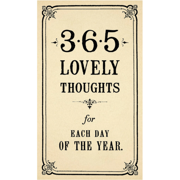 365 Lovely Thoughts - Sugarboo and Co