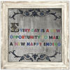 Every Day is a New Opportunity - Sugarboo and Co Art Print - White Wash Frame