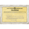Custom Telegram Art Print - Sugarboo and Co - White Wash Frame