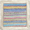 Zig Zag Art Print - Sugarboo and Co - White Wash Frame