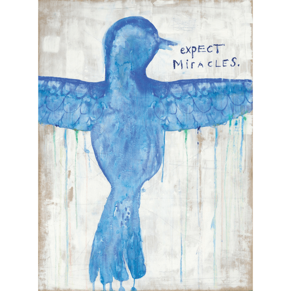 Expect Miracles Art Print - Sugarboo and Co - Gallery Wrap