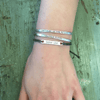 Braided Bar Bracelets - Sugarboo and Co