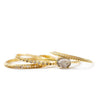 Gold Plated Vintage Ring Set