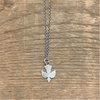 "Sterling Silver ""Mama Bird"" Necklace - Sugarboo and Co"