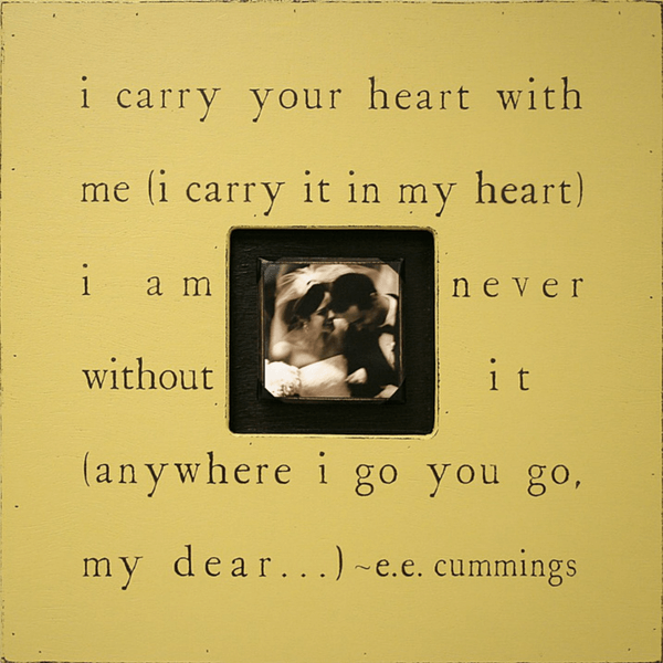I carry your heart - Photobox - Sugarboo and Co