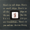 Here's to Tall Ships - Photobox - Sugarboo and Co - Black