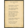 The Guest House - Rumi - Sugarboo and Co Poetry Collection - Cream - Grey Wood Frame