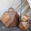 Icosahedron wood block - Various Sizes - Sugarboo and Co