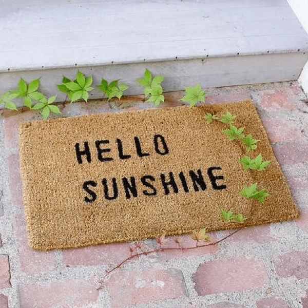 Door Mat - Hello Sunshine - Sugarboo and Co