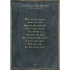 Hold Fast Your Dreams - Poetry Collection - Sugarboo and Co - Charcoal - Grey Wood Frame