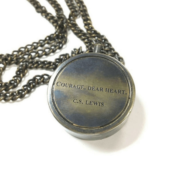 Engraved Compass - C.S. Lewis - Sugarboo and Co