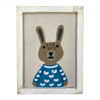 Fabric Wall Art - Rabbit - Sugarboo and Co