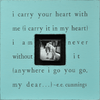 I carry your heart - Photobox - Sugarboo and Co - Turquoise