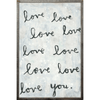 Whole Lotta Love - Sugarboo and Co - Grey Wood Frame