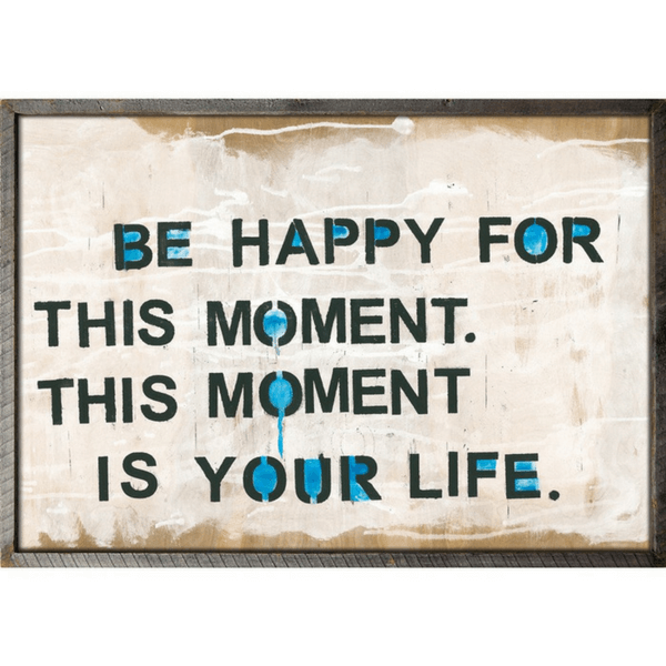 This Moment Art Print - Sugarboo and Co - Grey Wood Frame