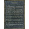 Desiderata - Poetry Collection - Sugarboo and Co - Charcoal - Grey Wood Frame