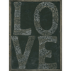 L-O-V-E Art Print - Grey Wood Frame - Sugarboo and Co