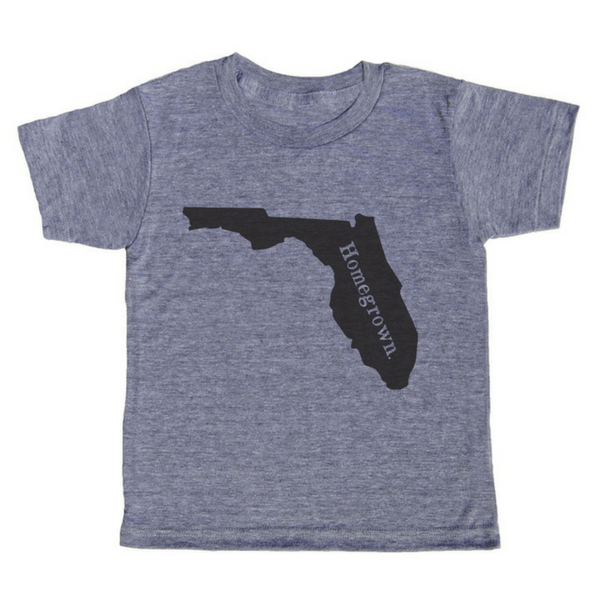 Homegrown T-Shirts - Florida - Sugarboo and Co