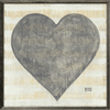 Grand Couer - Sugarboo Designs - Grey Wood Frame