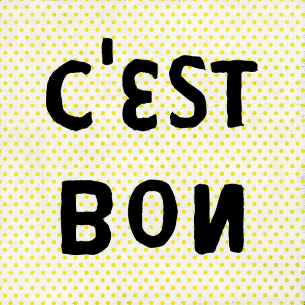 C'est Bon - Sugarboo and Co Art Print - Gallery Wrap